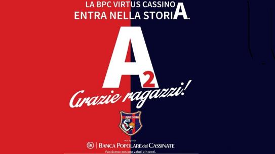 Basket: La BPC Virtus Cassino in Seria A2
