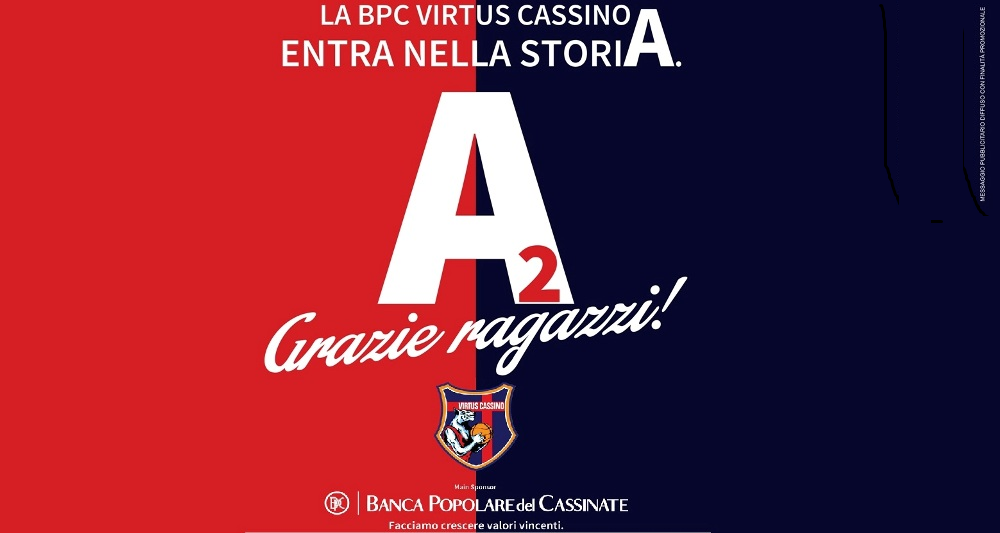 Basket: La BPC Virtus Cassino in Seria A2