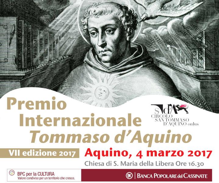 Premio Internazionale Tommaso d'Aquino e Concorso Veritas et Amor 2017