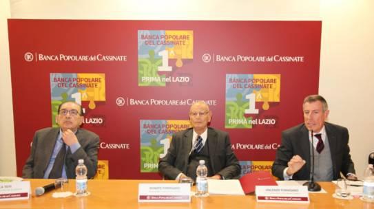 Banca Popolare del Cassinate: Prima nella Regione Lazio