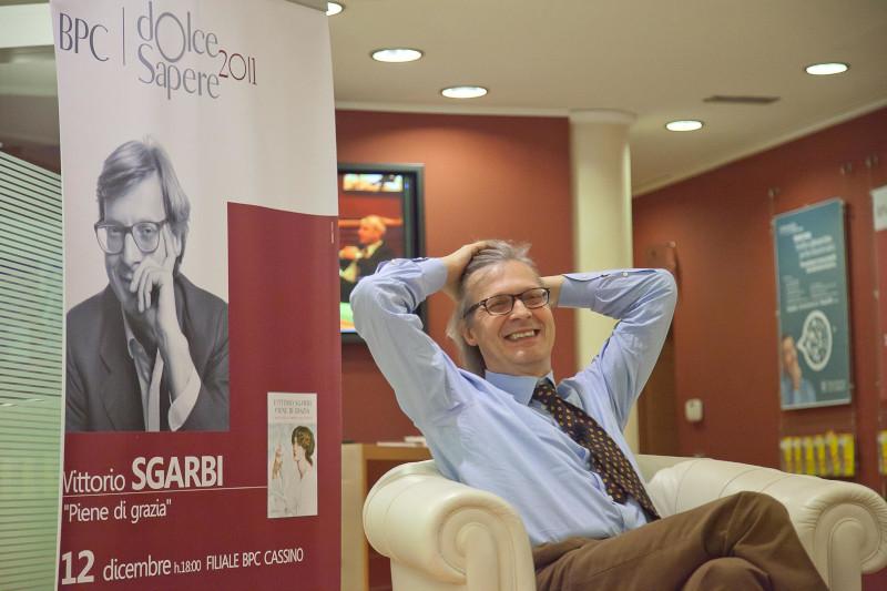 Vittorio Sgarbi ospite di Dolce Sapere