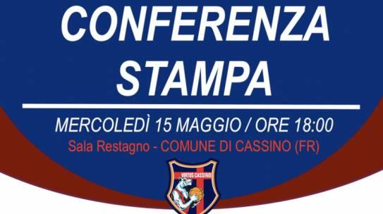 Virtus Cassino: conferenza stampa di fine anno