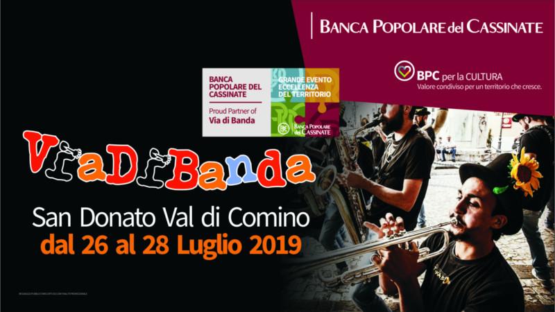 Via di Banda 2019: Cammina nella musica