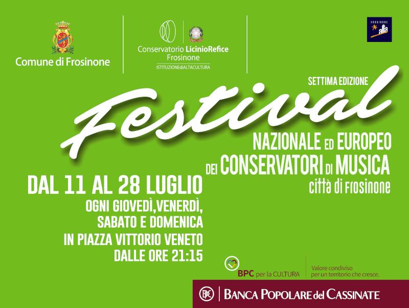 Festival Nazionale Dei Conservatori Italiani Città Di Frosinone