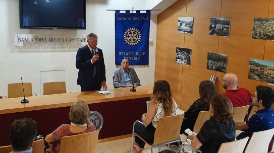International Cultural Camp 24 – 30 luglio 2019 organizzato dal Rotary Club di Cassino