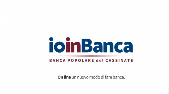 Nasce IO IN BANCA: la banca online della BPC