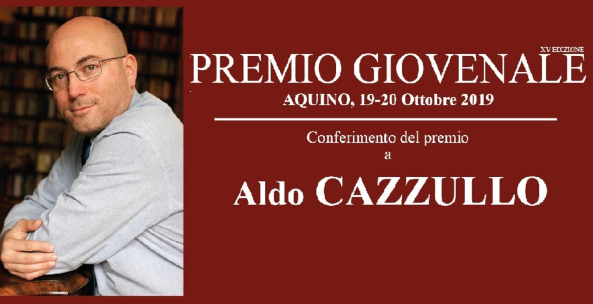 Ad Aldo Cazzullo il Premio Giovenale 2019