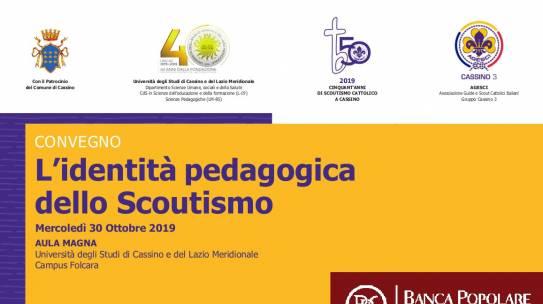 """""""L'identità pedagogica dello scoutismo"""""""