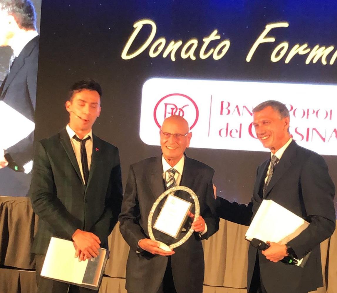 Future Bancassurance Awards: premio alla carriera per il Presidente Formisano