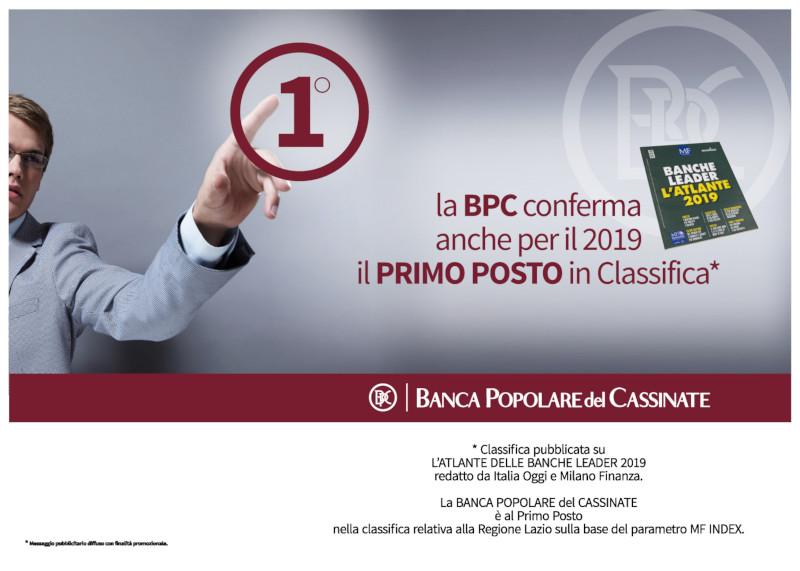 BPC: Prima nella Regione Lazio
