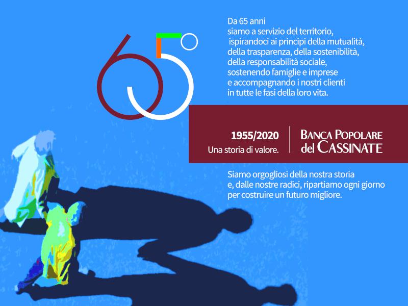 65 anni dalla fondazione della Banca Popolare del Cassinate.