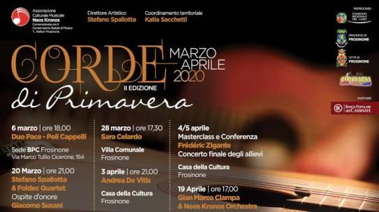 II edizione del Festival Chitarristico Corde di Primavera