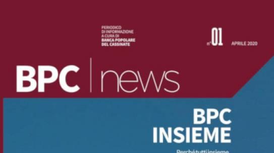 Online il nuovo numero di BPC NEWS