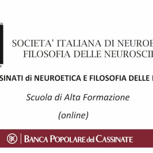 Scuola di alta Formazione in Neuroetica e Filosofia delle Neuroscienze