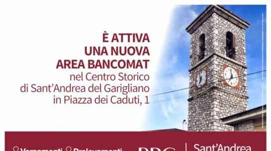 Un nuovo ATM a S. Andrea del Garigliano