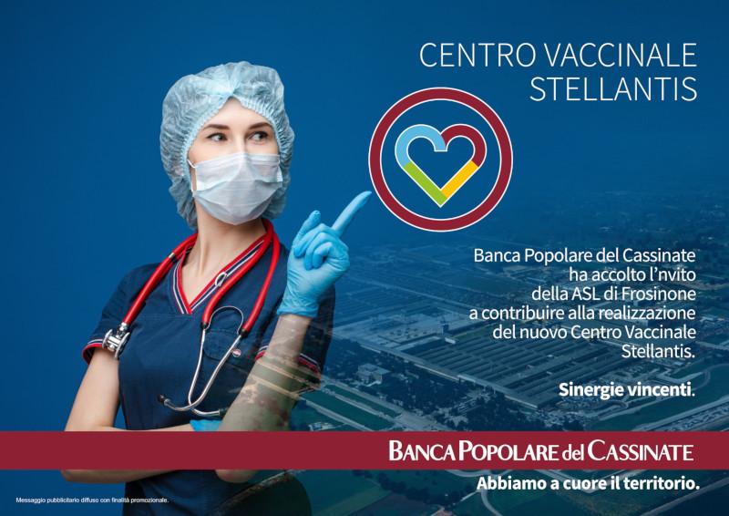 Inaugurazione Centro Vaccinale Stellantis
